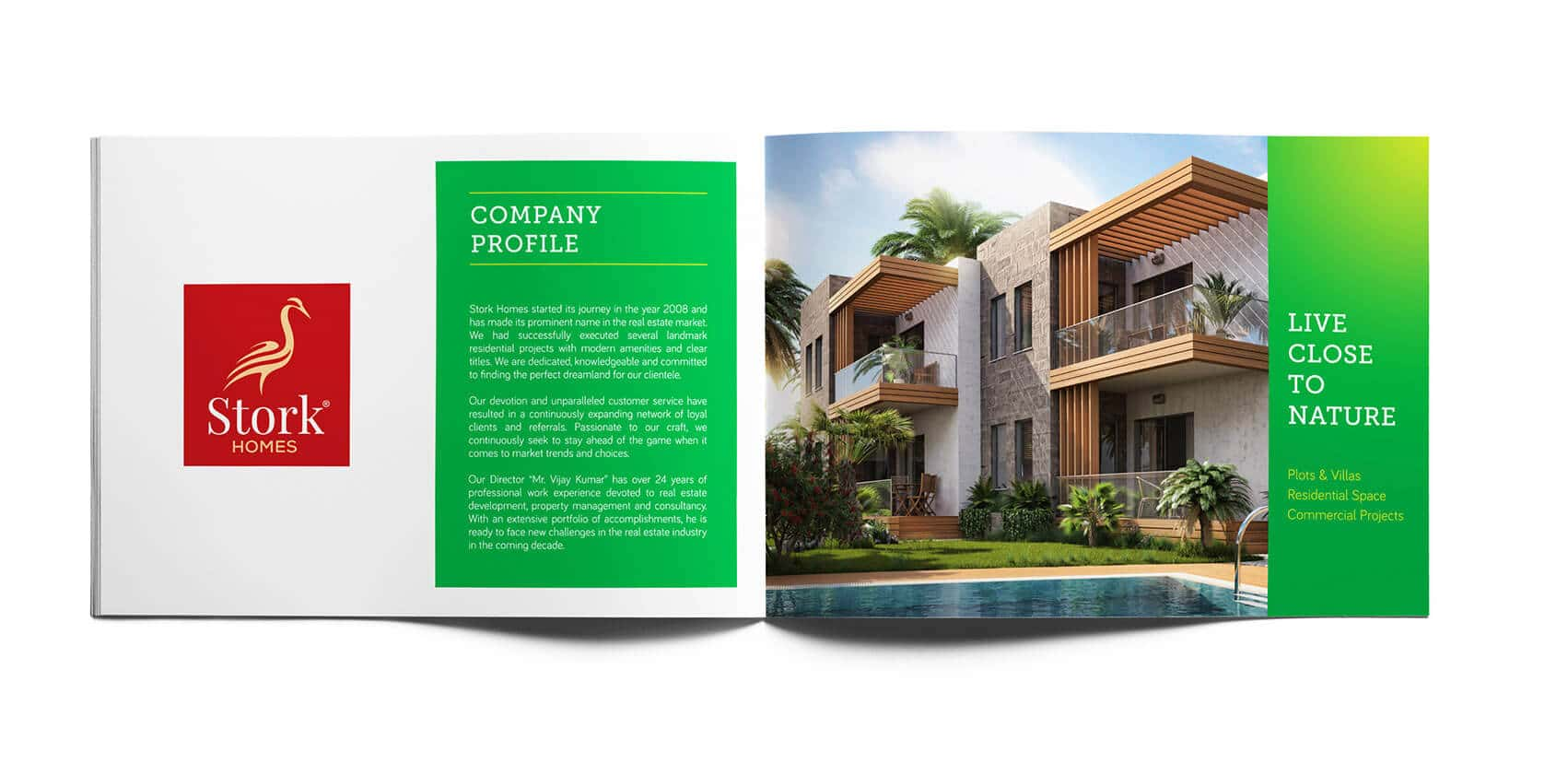 Daffodils Garden Branding Brochure Design Profile Vatitude