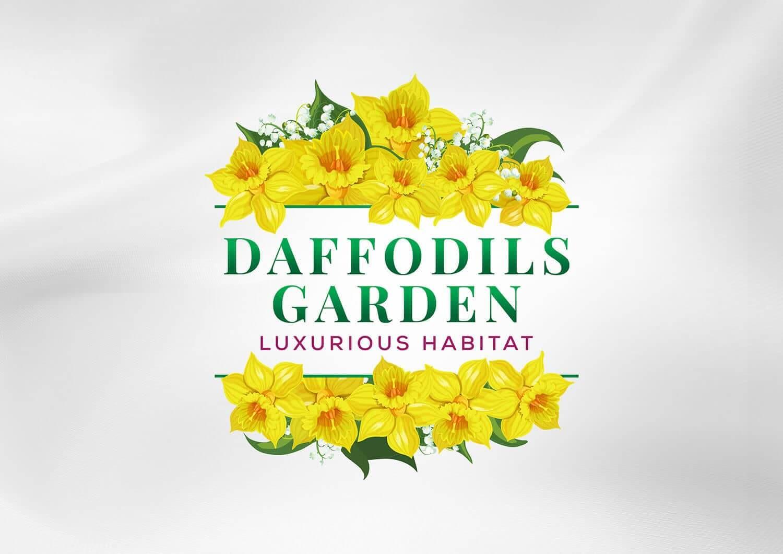 Daffodils Garden Branding Cover image Vatitude