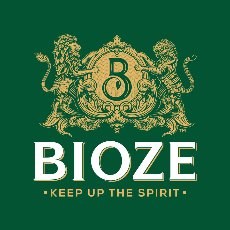BIOZE Branding Logo Color Background Vatitude