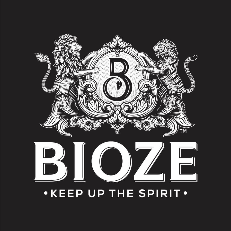 BIOZE Branding Logo Negative Vatitude